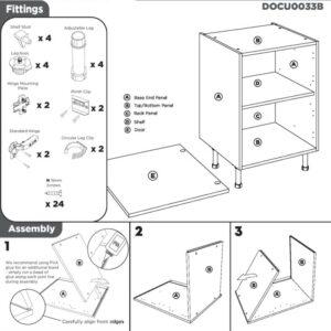 Base Cabinet Instructions