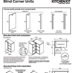 Blind Corner Installation Leaflet