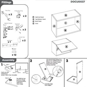Bridging Wall Cabinet Instructions