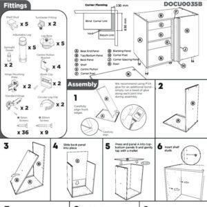 Corner Base Cabinet Instructions