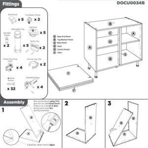 Double Base Cabinet Instructions